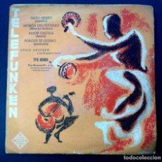 Discos de vinilo: DENO DESTERO - GATO NEGRO (MAMBO) - EP - TELEFUNKEN. Lote 242860375