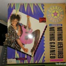 Discos de vinilo: DISCO VINILO CHARLIE SINGLETON & MODERN MAN. NOTHING VENTURED / GAINED. Lote 242861600