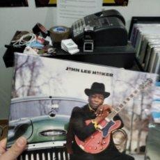 Disques de vinyle: LP JOHN LEE HOOKER CALIFORNIA MR LUCKY VG++. Lote 242866330