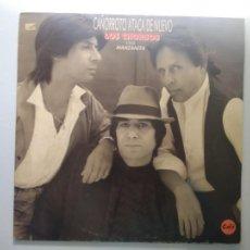 Discos de vinilo: LP LOS CHORBOS CON MANZANITA. CAÑORROTO ATACA DE NUEVO, 1989.. Lote 242868960