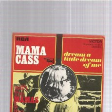 Discos de vinilo: MAMA CASS DREAM A LITTLE. Lote 242881310