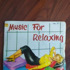 "Discos de vinilo: MUSIC FOR RELAXING - BELTER - 1957 - VINYL, 7"" PULGADAS - DISCO VINILO. Lote 242887555"