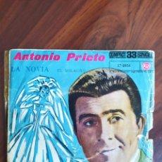 """Discos de vinilo: ANTONIO PRIETO - LA NOVIA - 1961 - VINYL, 7"""" PULGADAS - DISCO VINILO. Lote 242892575"""