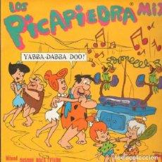 """Discos de vinilo: DOBLE LP """"LOS PICAPIEDRA MIX""""-ORIGINAL SPAIN 1994-EUROHOUSE-MISED BY QUIQUE TEJADA. Lote 242893885"""