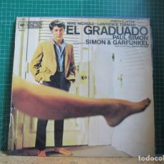 Dischi in vinile: SIMON & GARFUNKEL - EL GRADUADO: ORIGINAL SOUND TRACK RECORDING - CBS S 70042 - 1970. Lote 242895970