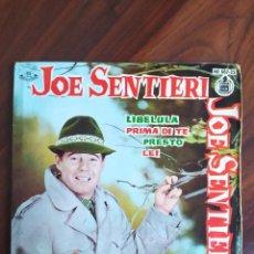 """Discos de vinilo: JOE SENTIERI - LIBELULA/PRIMA DI TE/PRESTO/LEI - 1961 - VINYL, 7"""" PULGADAS - DISCO VINILO. Lote 242896385"""
