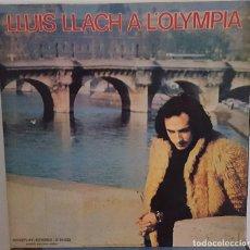Discos de vinilo: LP / LLUIS LLACH - A L'OLYMPIA, 1973. Lote 242897170