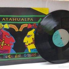 Discos de vinilo: MAXI SINGLE DE ATAHUALPA-TOCA LAS CONGAS- EN FUNDA ORIGINAL 1992. Lote 242898115