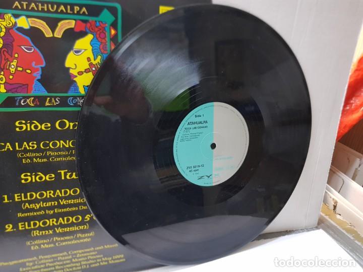Discos de vinilo: Maxi Single de Atahualpa-Toca Las Congas- en funda original 1992 - Foto 3 - 242898115