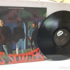 Discos de vinilo: LP-LOS SCOOTERS -SECRETOS DE MI CIUDAD - EN FUNDA ORIGINAL 1988. Lote 242899505