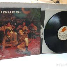 Discos de vinilo: LP-LOS CACIQUES -POR LA BARANDA- EN FUNDA ORIGINAL 1993. Lote 242900225