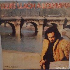 Discos de vinilo: LP / LLUIS LLACH - A L'OLYMPIA, 1973. Lote 242900865
