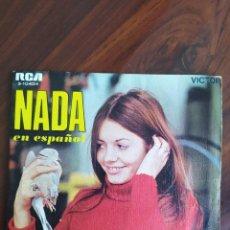 """Discos de vinilo: NADA EN ESPAÑOL - HACE FRÍO YA + LA GOLONDRINA - 1969 - VINYL, 7"""" PULGADAS - DISCO VINILO. Lote 242906360"""