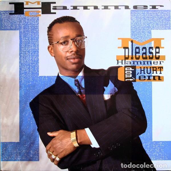 "LP MC HAMMER ""PLEASE HAMMER DON'T HURT 'EM"" -ORIG. ANALÓGICO SPAIN 1990 (Música - Discos - LP Vinilo - Rap / Hip Hop)"