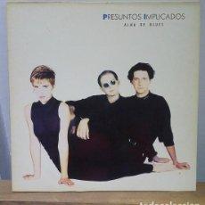 Discos de vinilo: PRESUNTOS IMPLICADOS - ALMA DE BLUES - 1989 - LP. Lote 225888905