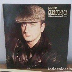 Discos de vinilo: JAVIER GURRUCHAGA - MUSICA PARA CAMALEONES - LP - 1990 - CON ENCARTE. Lote 242926465
