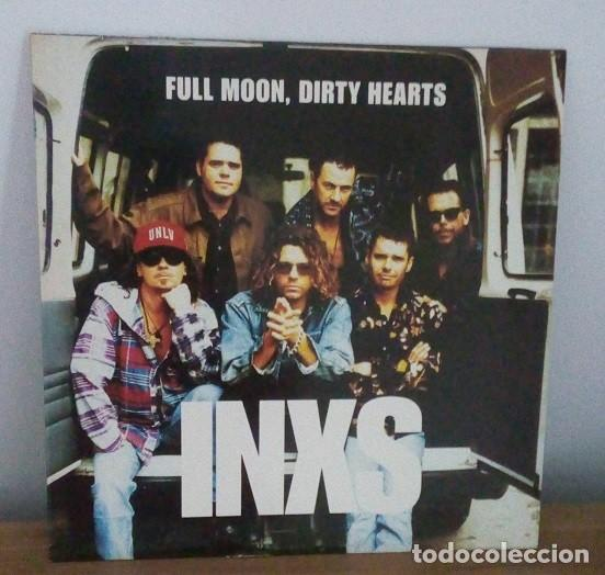 INXS - FULL MOON, DIRTY HEARTS - LP - 1993 (Música - Discos - LP Vinilo - Pop - Rock Extranjero de los 90 a la actualidad)