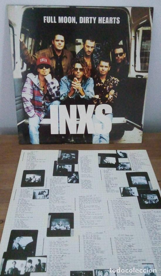 Discos de vinilo: INXS - FULL MOON, DIRTY HEARTS - LP - 1993 - Foto 2 - 242926845
