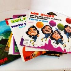 Discos de vinilo: 11 ANTIGUOS DISCOS INFANTILES CANCIONES + CUENTOS.AÑOS 70. Lote 242943520