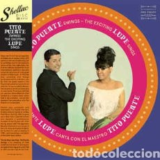 Discos de vinilo: TITO PUENTEYLA LUPE–TITO PUENTE SWINGS/THE EXCITING LUPE SINGS . LP VINILO NUEVO. LATIN SOUL. Lote 242943625