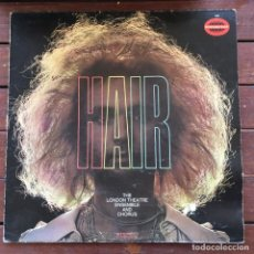 Disques de vinyle: THE LONDON THEATRE ENSEMBLE AND CHORUS - HAIR . LP . 1970 GERMANY. Lote 242954315