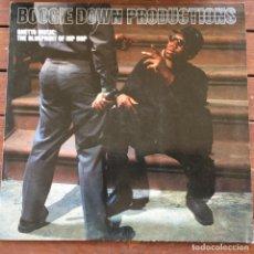 Discos de vinilo: BOOGIE DOWN PRODUCTIONS - GHETTO MUSIC: THE BLUEPRINT OF HIP HOP .LP . 1989 GERMANY. Lote 242955450