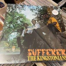 Discos de vinilo: THE KINGSTONIANS SUFFERER LP DISCO VINILO REGGAE SKA ROCKSTEADY. Lote 242955900