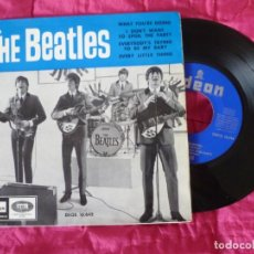 Discos de vinilo: THE BEATLES WHAT YOU'RE DOING LA VOZ DE SU AMO PRIMERA EDICIÓN MUY RARO EXCELENTE ESTADO. Lote 242958780