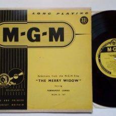 Discos de vinilo: LP (FORMATO 10 PULGADAS) BSO: THE MERRY WIDOW (MGM STUDIO ORCHESTRA CONDUCTED BY JAY BLACKTON). Lote 242963340