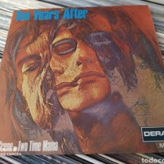 Discos de vinilo: TEN YEARS AFTER–TWO TIME MAMA / BAD SCENE. SINGLE VINILO SPAIN 1970. PERFECTO ESTADO.BLUES ROCK. Lote 242963390