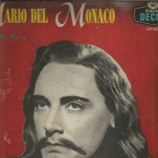 Discos de vinilo: MARIO DEL MONACO RECITAL 4. Lote 242966120