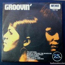 Discos de vinilo: ALAN CADDY - GROOVIN' (SOUL VOL. I) - UK EP 33RPM 1971 - AVENUE. Lote 242969065