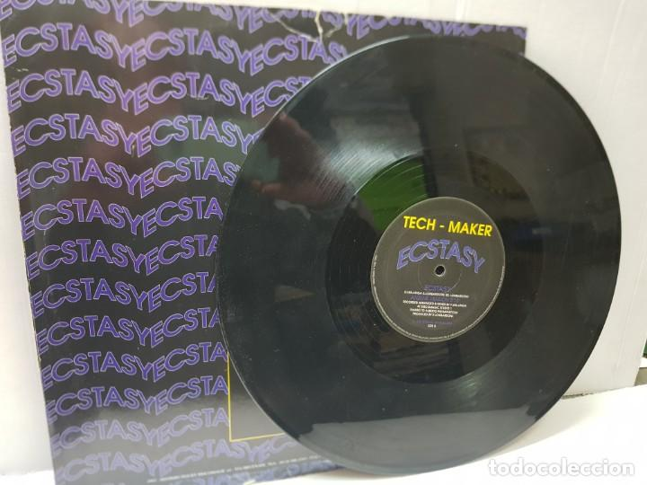 Discos de vinilo: MAXI SINGLE-TECH MAKER-ECSTASY- en funda original 1993 - Foto 3 - 242975505