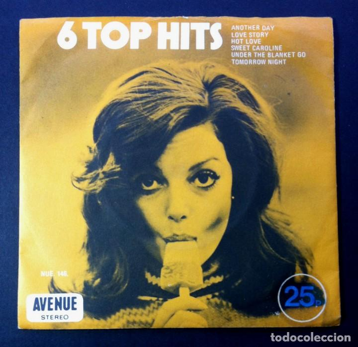 ALAN CADDY - 6 TOP HITS - UK EP 1971 - AVENUE (T.REX / PAUL MCCARTNEY / NEIL DIAMOND..) (Música - Discos de Vinilo - EPs - Pop - Rock Internacional de los 70)