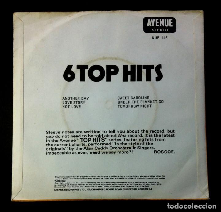 Discos de vinilo: ALAN CADDY - 6 top hits - UK EP 1971 - AVENUE (T.Rex / Paul McCartney / Neil Diamond..) - Foto 2 - 242975715