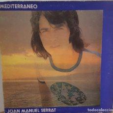 Discos de vinilo: LP / JOAN MANUEL SERRAT - MEDITERRANEO, LAS LETRAS EN EL INTERIOR, 1971. Lote 242976545