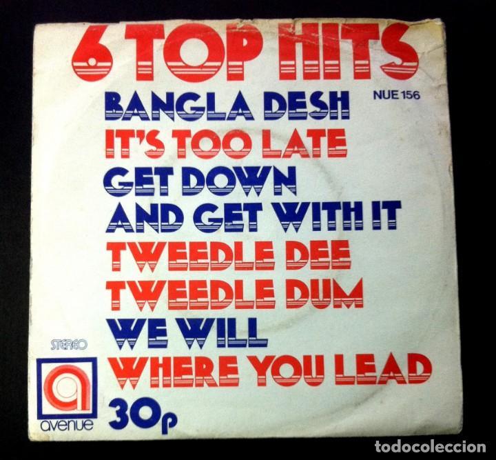 ALAN CADDY - 6 TOP HITS - UK EP 1971 - AVENUE (GEORGE HARRISON / CAROLE KING...) (Música - Discos de Vinilo - EPs - Pop - Rock Internacional de los 70)