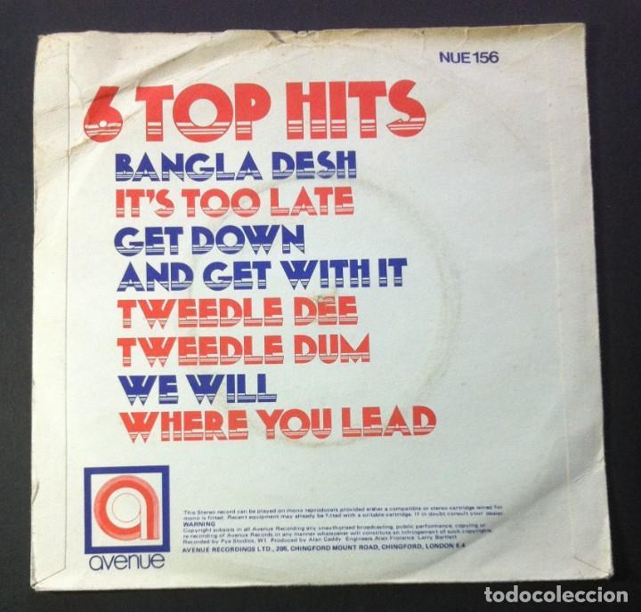 Discos de vinilo: ALAN CADDY - 6 top hits - UK EP 1971 - AVENUE (George Harrison / Carole King...) - Foto 2 - 242976575