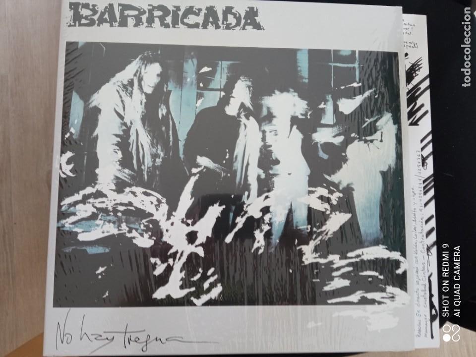 BARRICADA NO HAY TREGUA LP CON INSERTO ¡¡NUEVO¡¡ ¡¡PRECINTADO¡¡ (Música - Discos - LP Vinilo - Grupos Españoles de los 70 y 80)