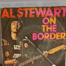 """Discos de vinilo: SINGLE DE AL STEWART,"""" ON THE BORDER """" / EDITADO POR RCA.EN 1977. Lote 235194150"""