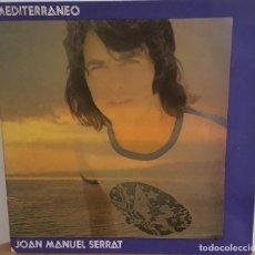 Discos de vinilo: LP / JOAN MANUEL SERRAT - MEDITERRANEO, LAS LETRAS EN EL INTERIOR, 1971. Lote 242984485