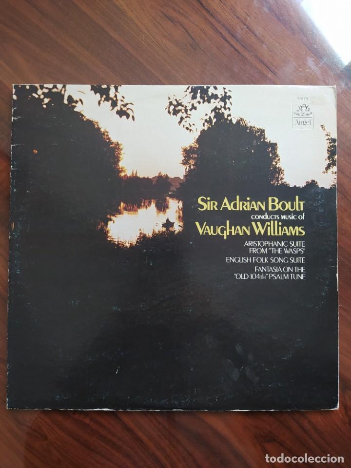 VAUGHAN WILLIAMS*, SIR ADRIAN BOULT, LONDON PHILHARMONIC ORCHESTRA* – SIR ADRIAN BOULT - S-37276 (Música - Discos de Vinilo - Maxi Singles - Clásica, Ópera, Zarzuela y Marchas)