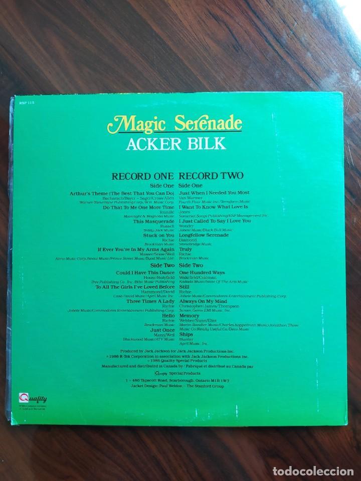 Discos de vinilo: Acker Bilk – Magic Serenade, 1986 - Foto 2 - 242988245