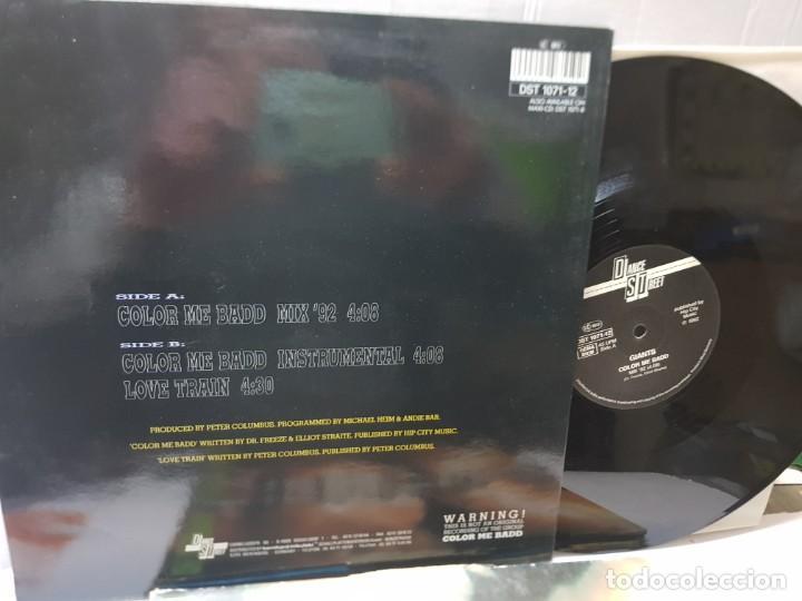 Discos de vinilo: MAXI SINGLE-GIANTS-COLOR ME BADD - en funda original 1992 - Foto 2 - 242990800