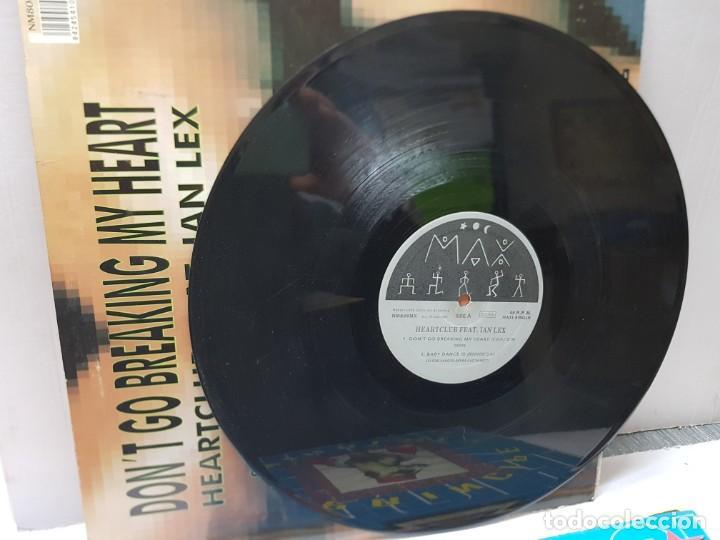 Discos de vinilo: MAXI SINGLE-HEARRCLUB FEAT.IAN LEX-DONT GO BREAKING MY HEART - en funda original 1994 - Foto 3 - 242991575