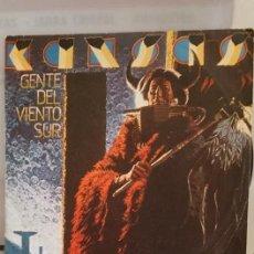 """Discos de vinilo: SINGLE DE KANSAS """" GENTE DEL VIENTO SUR """". EDITADO POR SGAE.EN 1979.. Lote 235191985"""