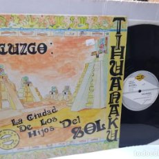Discos de vinilo: MAXI SINGLE-CUZCO-TIHUNAKU- EN FUNDA ORIGINAL 1992. Lote 242992670