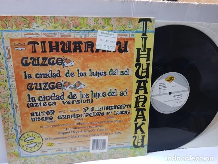 Discos de vinilo: MAXI SINGLE-CUZCO-TIHUNAKU- en funda original 1992 - Foto 2 - 242992670