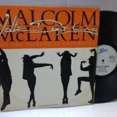 Discos de vinilo: MAXI SINGLE-MALCOLM MCLAREN AND THE BOOTZILLA ORCHESTRA-DEEP IN VOGUE- EN FUNDA ORIGINAL 1989. Lote 242996215