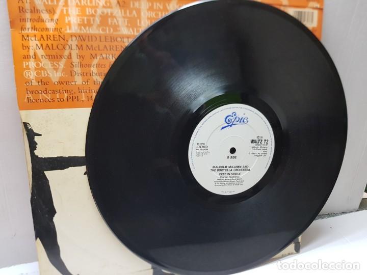 Discos de vinilo: MAXI SINGLE-MALCOLM MCLAREN AND THE BOOTZILLA ORCHESTRA-DEEP IN VOGUE- en funda original 1989 - Foto 3 - 242996215